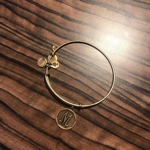 Alex and Ani Jewelry - 'M' Alex and Ani bracelet